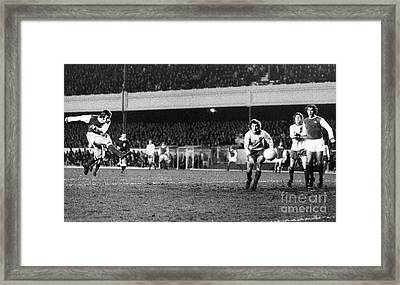 England: Soccer Game, 1972 Framed Print by Granger