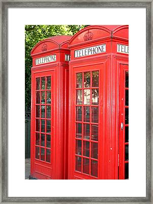 England's Calling Framed Print by Sara Summers