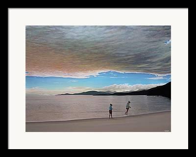 Stanley Park Paintings Framed Prints