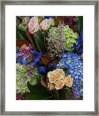 Framed Print featuring the photograph English Bouquet by Julie Andel
