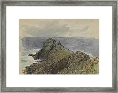 English Coastal Scenery Framed Print