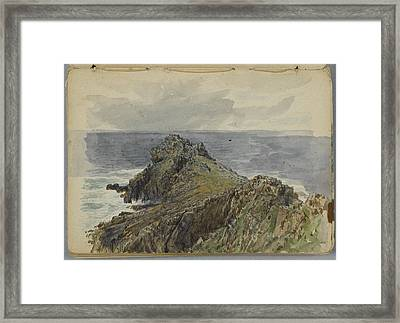 English Coastal Scenery Framed Print by MotionAge Designs