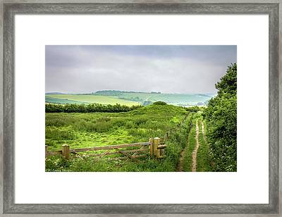 English Country Landscape 2 Framed Print