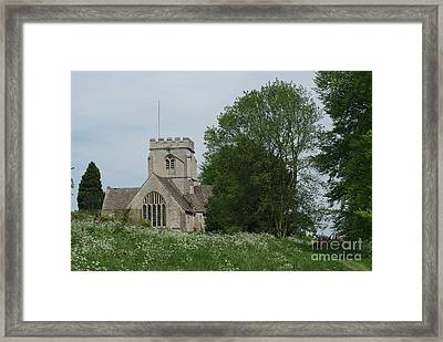 English Country Spring Framed Print by Catja Pafort