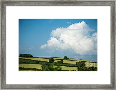 Framed Print featuring the photograph English Countryside In Summer by Jan Bickerton