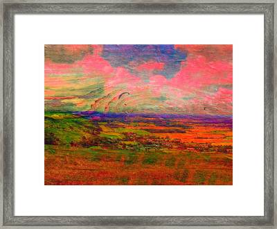 English Countryside Framed Print by Jen White