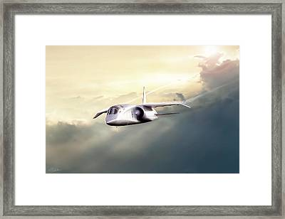 English Enigma Framed Print by Peter Chilelli