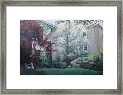 English Estate Framed Print by Keith Bagg
