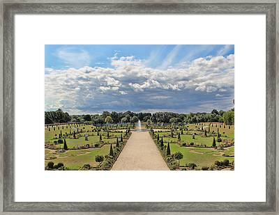 English Garden Framed Print