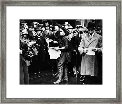 English General Strike. British Framed Print