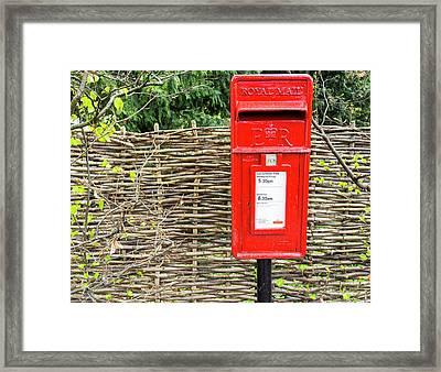 English Post Framed Print by Niel Morley