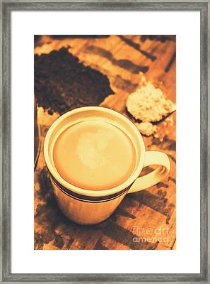 English Tea Breakfast Framed Print by Jorgo Photography - Wall Art Gallery