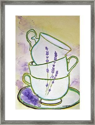 English Tea Framed Print