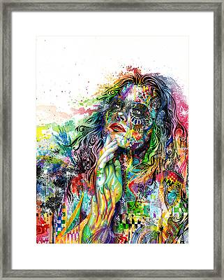 Enigma Framed Print by Callie Fink