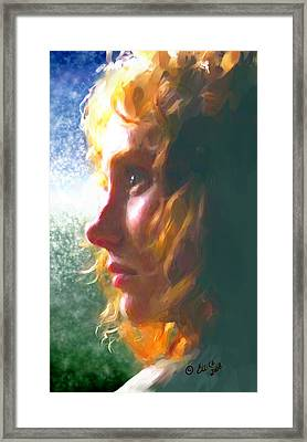 Enigma Framed Print by Elzire S