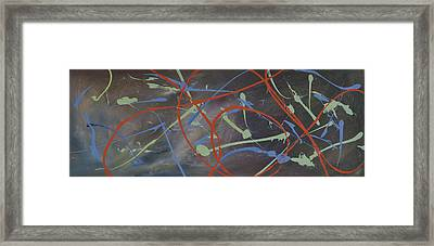 Enigma Framed Print by Leana De Villiers