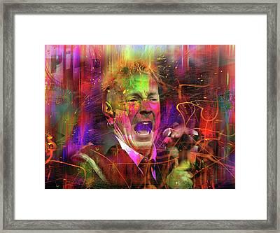 Enjoy Or Die Framed Print