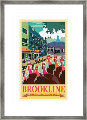 Enjoy Our Shopping Framed Print