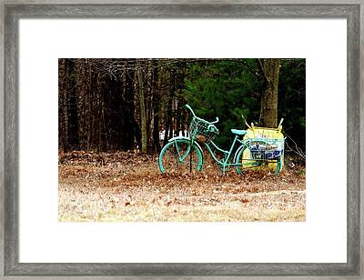 Enjoy The Adventure Framed Print