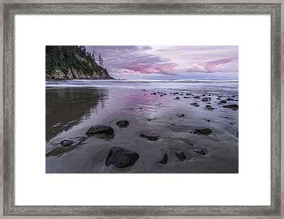 Enjoy The Color Framed Print by Jon Glaser
