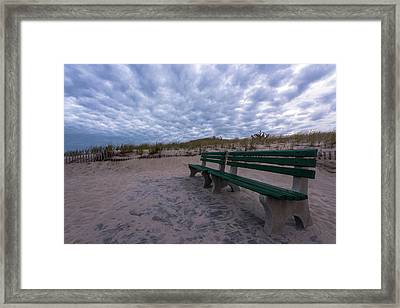 Enjoy The View Seaside New Jersey Framed Print