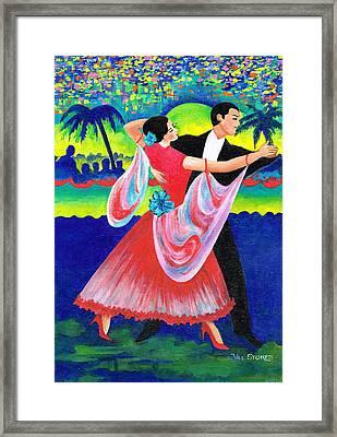 Enjoyable Waltz Framed Print