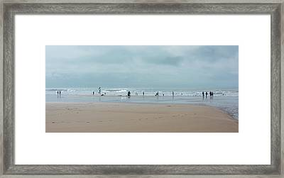 Enjoyment Framed Print by Svetlana Sewell