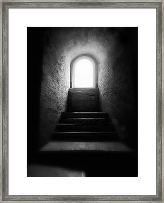 Enlighted Framed Print by Artecco Fine Art Photography