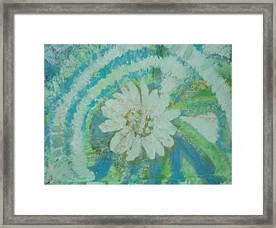 Enlightened Framed Print by Anne-Elizabeth Whiteway