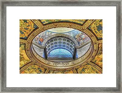 Enlightened In Proportion - Missouri - State Capitol Framed Print by Nikolyn McDonald