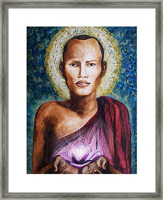 Enlightenment Framed Print by Amber Stanford