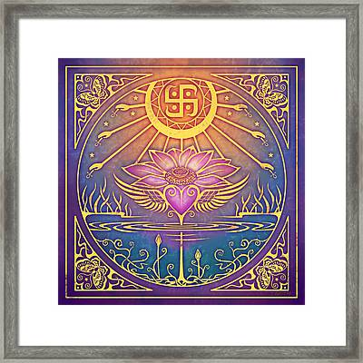 Enlightenment Framed Print by Cristina McAllister