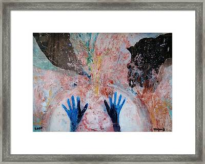 ..enlightenment.. Framed Print by Rooma Mehra