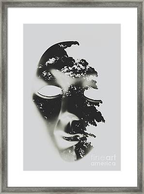 Enlightenment Within Framed Print