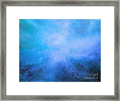 Enlivening Mist Framed Print