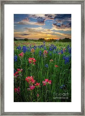 Ennis Twilight Framed Print by Inge Johnsson