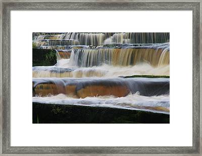 Ennistymon Falls Framed Print by Martina Fagan