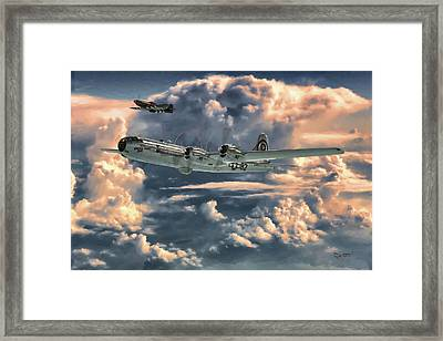 Enola Gay Framed Print by Dave Luebbert