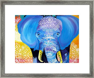Enormous Joy Framed Print by Cathy Jacobs