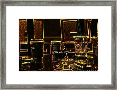 Enough Framed Print by Jonathan Ellis Keys