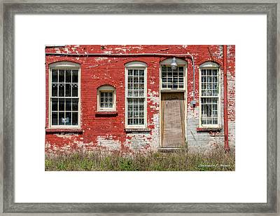 Enough Windows Framed Print by Christopher Holmes