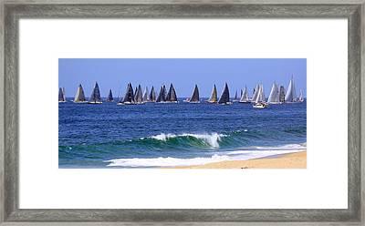 Ensenada Race Vii Framed Print