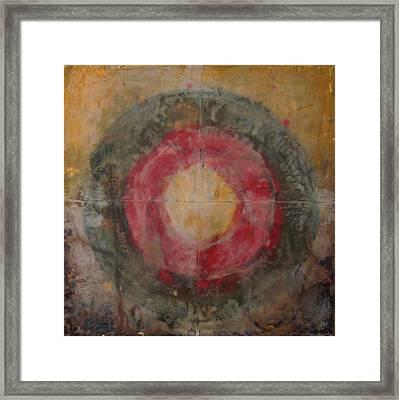 Enshrine - Mindfulness Framed Print by Janelle Schneider