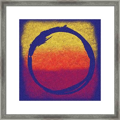 Enso 6 Framed Print