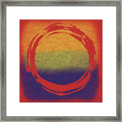 Enso 7 Framed Print