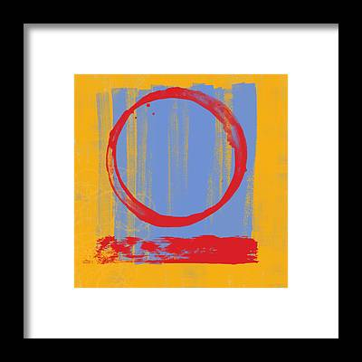 Abstract Expressionism Framed Prints