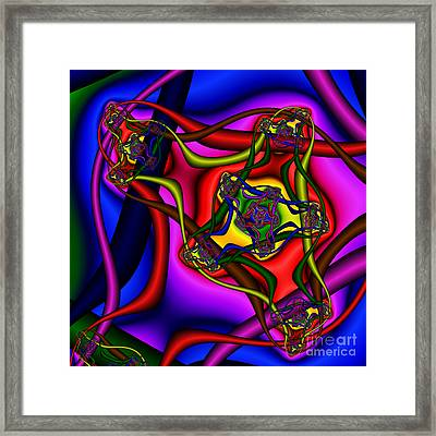 Entangled 114 Framed Print by Rolf Bertram