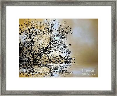Framed Print featuring the photograph Entangled by Elfriede Fulda