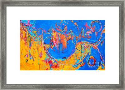 Entangled No. 3 A Reflection Of Life Framed Print by Patricia Awapara