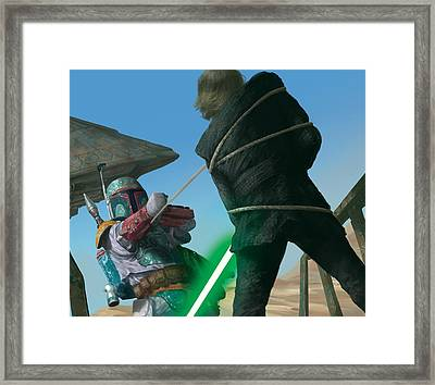 Entangled Framed Print by Ryan Barger